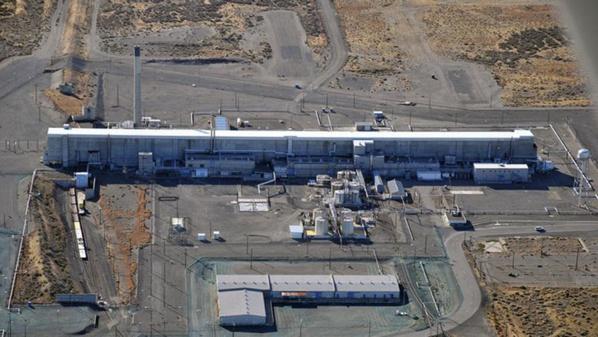 """Un tunnel s'effondre près de la """"poubelle"""" nucléaire des Etats-Unis"""