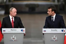 Dialogue musclé sur la Syrie et les droits de l'Homme entre Poutine et Macron