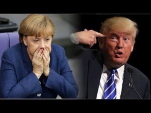 Le ton et la tension montent entre Trump et Merkel