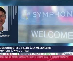 Thomson Reuters s'allie à Symphony, la messagerie de Wall Street