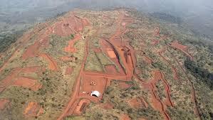 La mine de Simandou (Guinée)