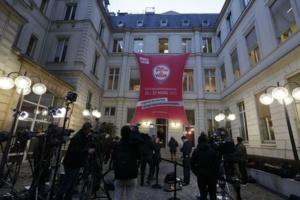 Siège du Parti socialiste, rue de Solférino (Paris)