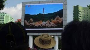 """Pyongyang affirme que son ICBM peut porter """"une grosse tête nucléaire"""""""