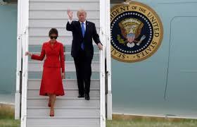 Loin des ennuis de Washington, Trump se fait dérouler le tapis rouge à Paris
