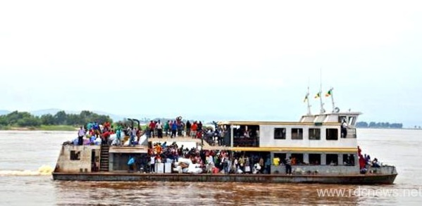 RDC: 27 morts et 54 disparus dans un naufrage sur la rivière Kasaï