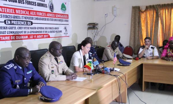Photo: site de l'ambassade des Usa à Dakar