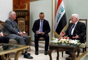 """Abadi réfute devant Tillerson ses propos sur les """"milices iraniennes"""""""