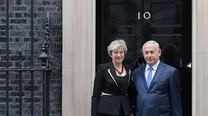 Royaume-Uni: May reçoit Netanyahu pour le centenaire de la déclaration Balfour
