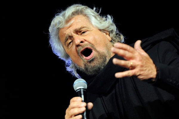 Beppe Grillo, le lchef du M5S