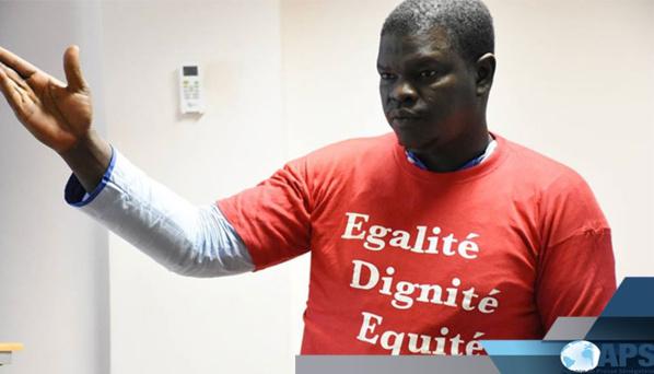 Bamba Kassé, secrétaire général de la Section Synpics de l'APS (photo APS)