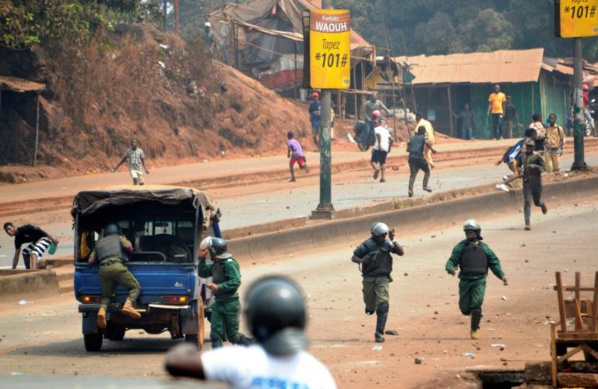 Guinée: 2 morts dans des heurts entre manifestants et forces de l'ordre