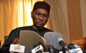 Valeur scientifique du rapport dit de l'Union européenne: zéro (Par le Professeur Abdoulaye Wade)