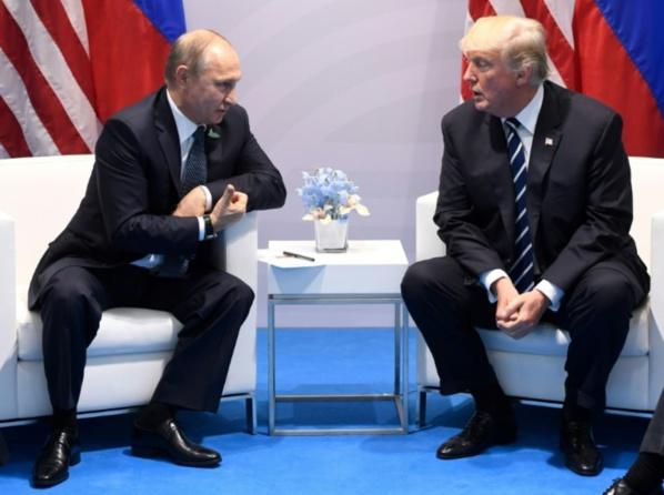 Vladimir Poutine & Donald Trump (archive)