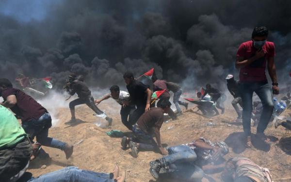 Sanglante journée à la frontière de Gaza, Israël massacre près de 55 Palestiniens