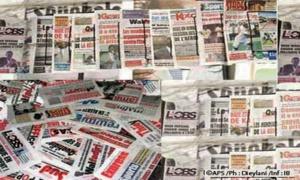 La revue de presse du 15 mai 2018