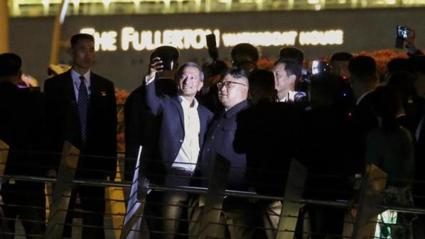 Kim Jong Un se paie une virée nocturne dans Singapour à la veille de son sommet avec Trump