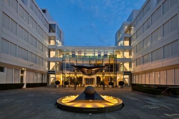 Le siège de la multinationale des matières premières à Zoug (Suisse)