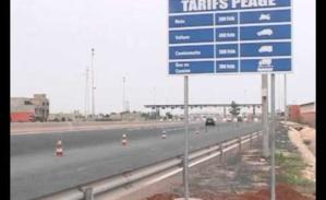 Autoroute: les tarifs du péage seront ramenés à 2000 et 3000 francs Cfa