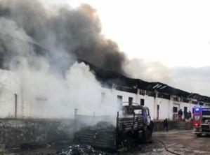 L'entrepôt de la CENI victime d'un incendie