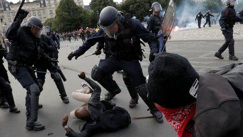 L'IGPN saisie de 78 cas présumés de violences policières