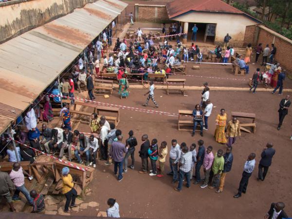 File d'électeurs congolais le 30 décembre dernier (photo MONUSCO)