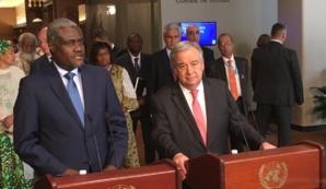 La coopération ONU-UA renforce le vent d'espoir qui souffle en Afrique, selon António Guterres