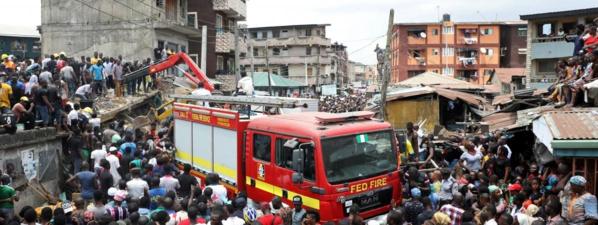 Nigeria : au moins huit morts dans l'effondrement d'un immeuble à Lagos