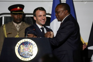 La France signe pour deux milliards d'euros de contrats avec le Kenya