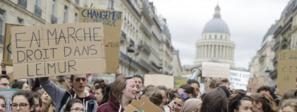 Marche pour le climat : entre 29 000 et 40 000 jeunes manifestent à Paris