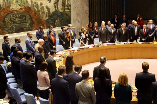 Le conseil de sécurité des Nations-unies a observé ce vendredi une minute de silence à la mémoire des victimes de Christchurch