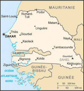 Le Sénégal comptait 15,726 millions d'habitants en 2018, Dakar et Kédougou les deux extrêmes