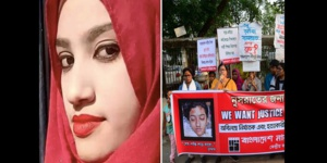 Bangladesh : Une jeune femme de 18 ans brûlée vive suscite des manifestations depuis dix jours