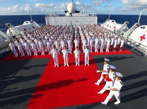 La Chine célèbre en grande pompe les 70 ans de sa marine nationale