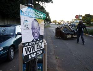 Afrique du Sud: L'ANC remporte les législatives mais passe sous les 60%