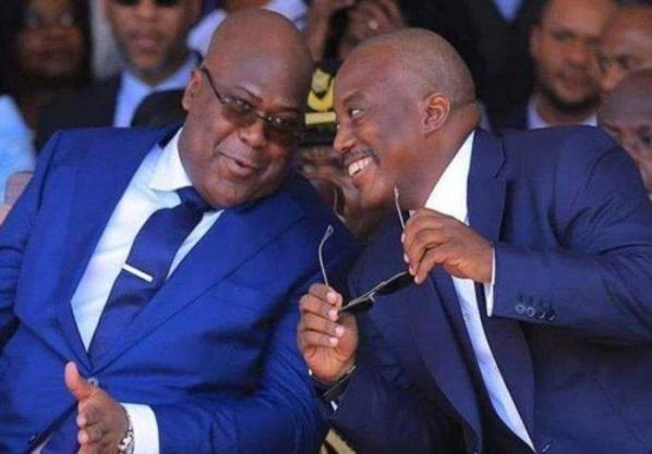 Felix Tshisekedi et Joseph Kabila