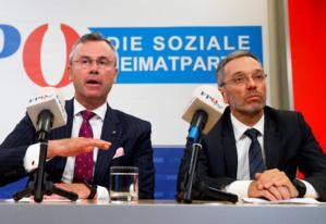 Le FPÖ quitte le gouvernement autrichien