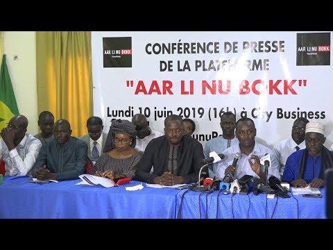 PLATEFORME «AAR LI NIOU BOKK» ET SCANDALES GAZIERS : « Nous voulons que 15 millions de Sénégalais disent 'ça suffit''»