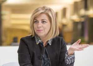 Elena Valenciano, la cheffe de la Mission d'observation électorale de l'Union européenne au Sénégal