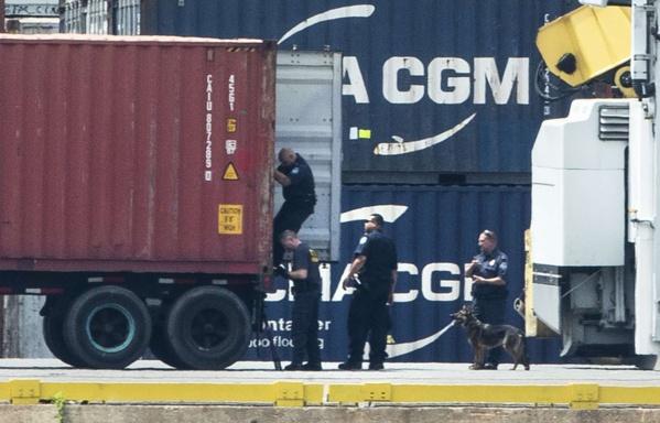 16 tonnes de cocaïne saisies sur un bateau à Philadelphie