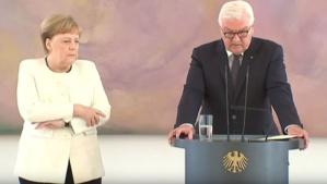 Merkel victime d'une nouvelle crise de tremblements