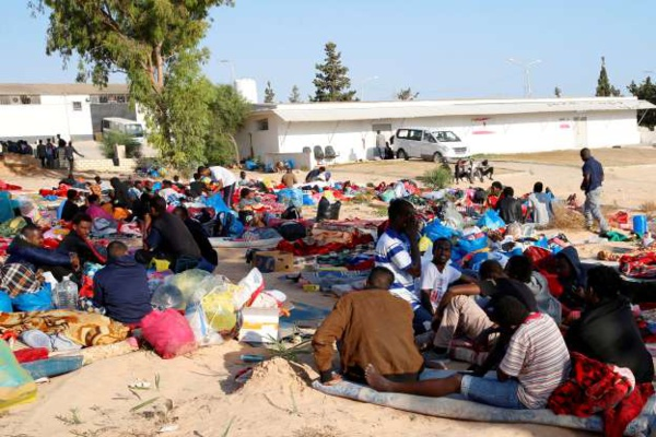 Libye: Les migrants du camp de détention bombardé le 3 juillet libérés