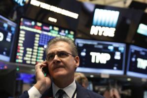 Wall Street étroitement irrégulière au terme d'une séance heurtée