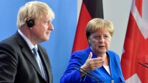"""Merkel à Johnson: un nouvel accord de Brexit est """"extrêmement improbable"""""""