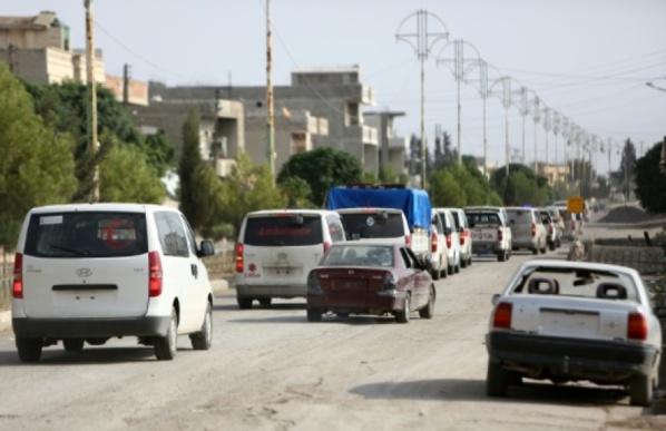 Syrie: retrait total des combattants kurdes d'une ville frontalière de la Turquie