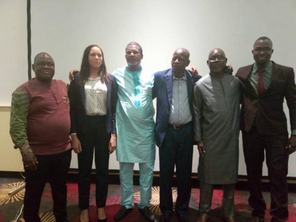 Boureïma Ouédrago, Arlinda Neves, Abdoulaye Diallo, Moussa Aksar, Tidiane Sy et David Dembélé (de g. à d.)