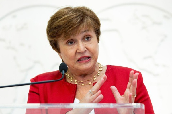 Kristalina Giorgieva, directrice générale du Fonds monétaire international (FMI)