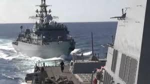 """Le Pentagone dénonce l'approche """"agressive"""" d'un navire de guerre russe en mer d'Arabie"""