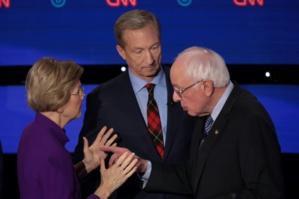 Elisabeth Warren et Bernie Sanders, les deux figures de la gauche américaine