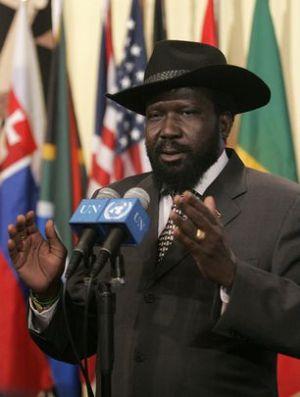Le président Salva Kiir