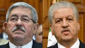 Les anciens Pm Ahmed Ouyahia (g) et Abdelmalek Sellal